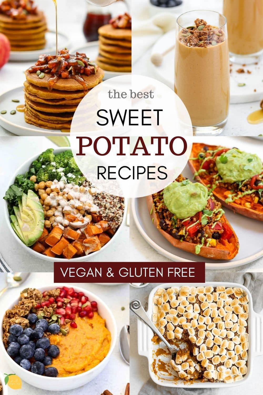 the best vegan and gluten free sweet potato recipes