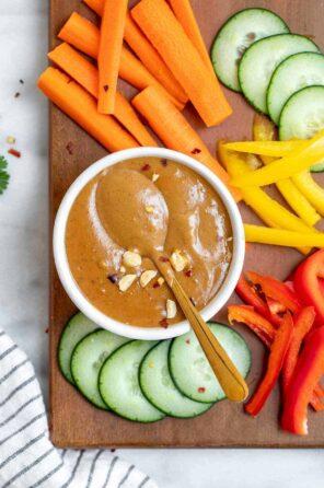 Best 5 Minute Thai Peanut Sauce