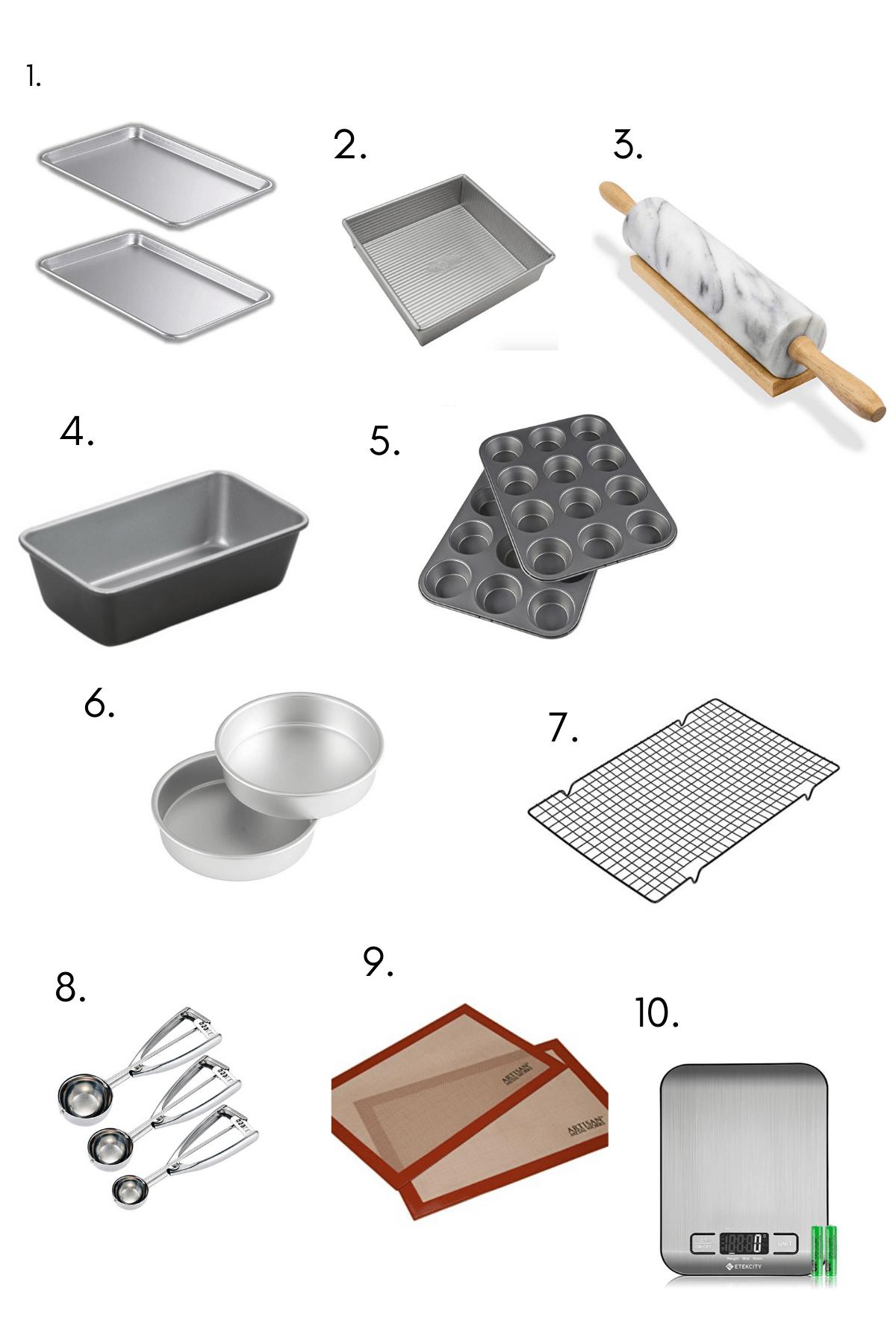 Baking needs image.