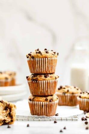 Paleo Almond Flour Banana Muffins
