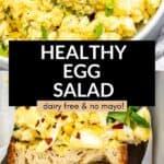 healthy dairy free egg salad