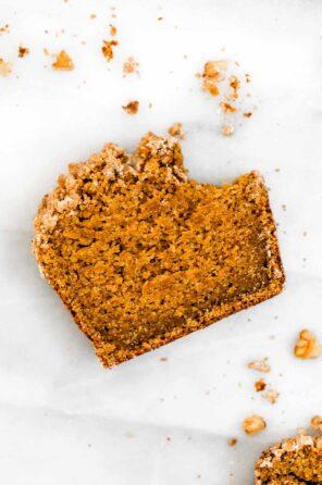 Healthy Gluten Free Pumpkin Bread