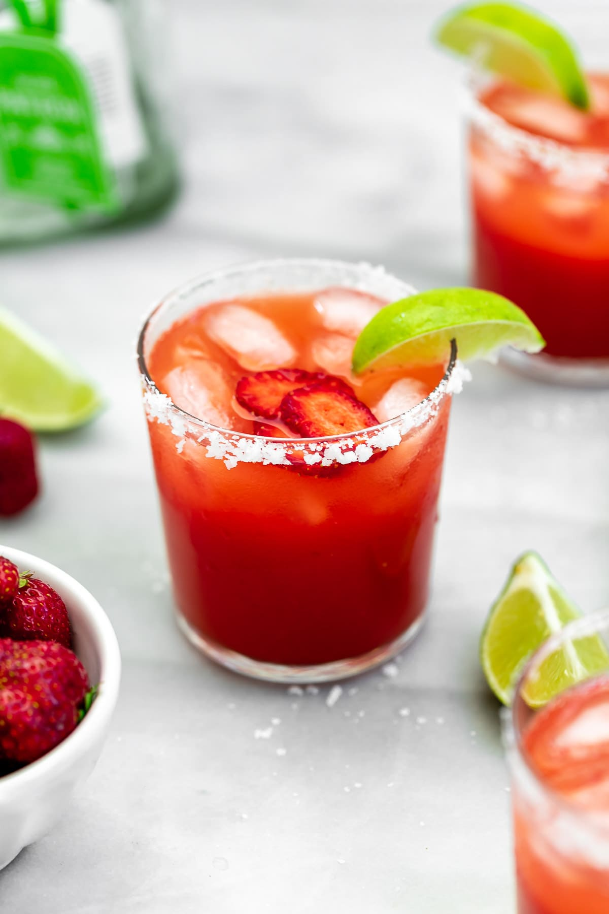 Fresh Easy Strawberry Margarita Eat With Clarity