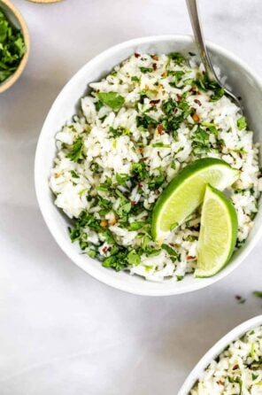 30 Minute Cilantro Lime Rice