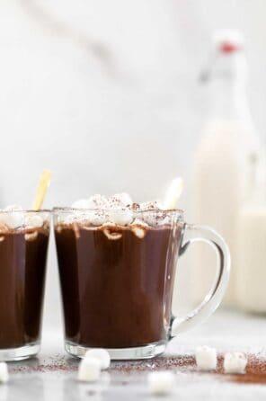Creamy Vegan Hot Chocolate