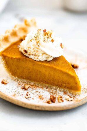 The Best Vegan Pumpkin Pie