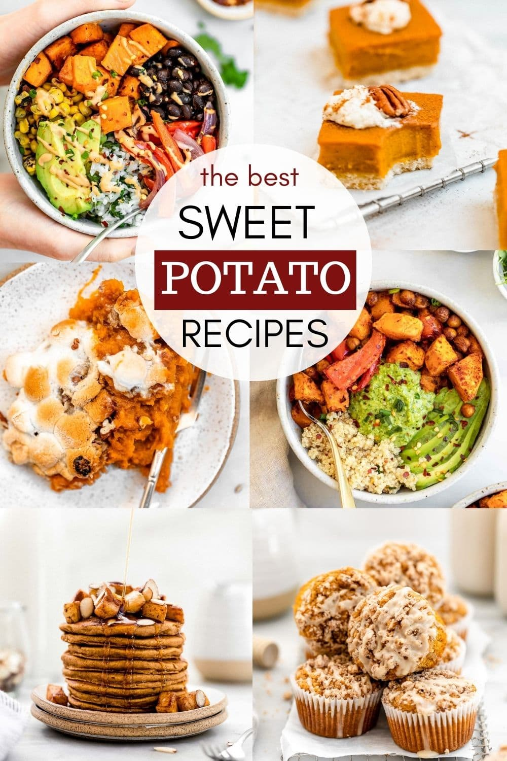 the best vegan and gluten free sweet potato recipes