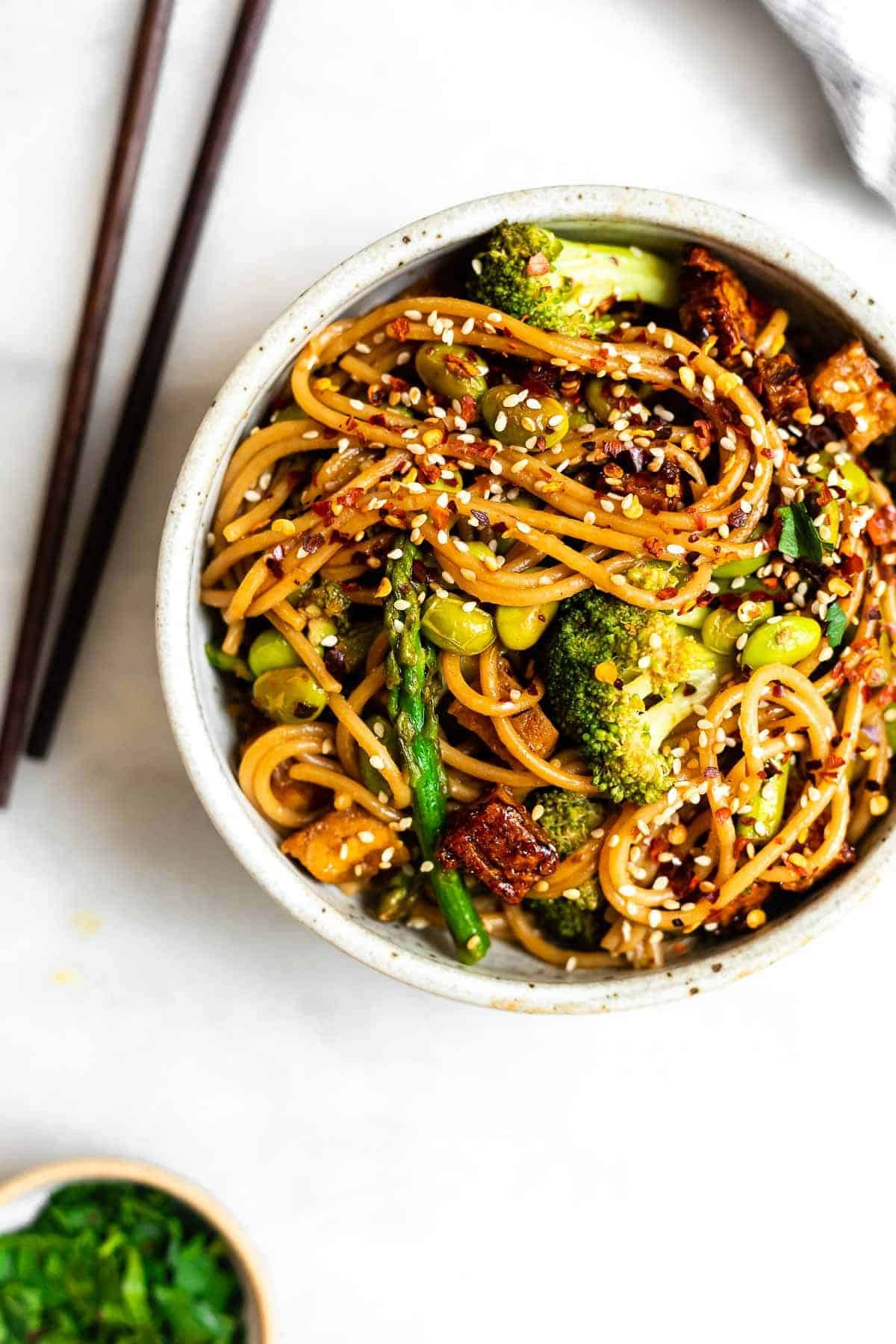 Vegetable Noodle Stir Fry Eat With Clarity Recipes