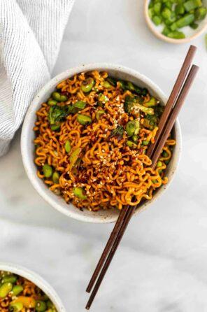 Quick & Easy Ramen Noodle Stir Fry