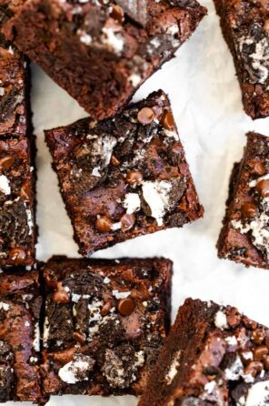 Gluten Free Oreo Brownies