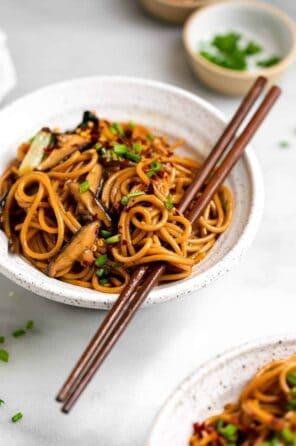 Teriyaki Stir Fry Noodles