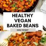 baked beans vegan on toast
