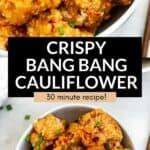 bang bang cauliflower wings
