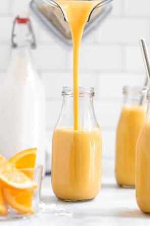 Orange Cantaloupe Smoothie