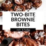 two bite brownies pin