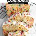 gluten free pound cake pin